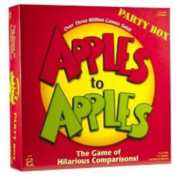 Mattel Games Apples to Apples Party in a Box,
